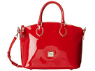 Dooney & Bourke Market Highland Holiday Patent Satchel