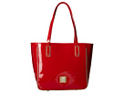Dooney & Bourke Market Highland Holiday Patent Small Bonnie Bag