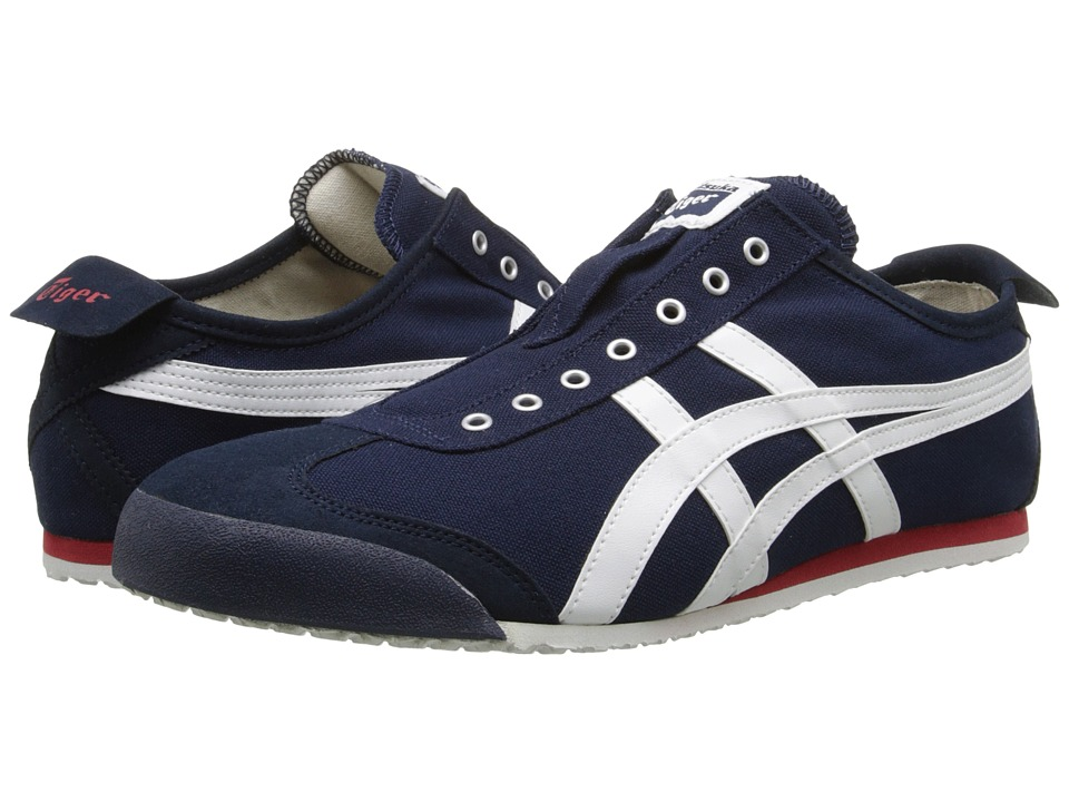 Onitsuka Tiger by Asics Mexico 66(r) Slip-On (Navy/Off-White) Shoes