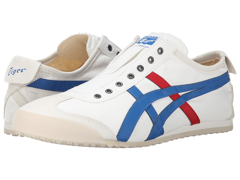 Onitsuka Tiger by Asics Mexico 66 Slip-On (White/Tricolor) Shoes