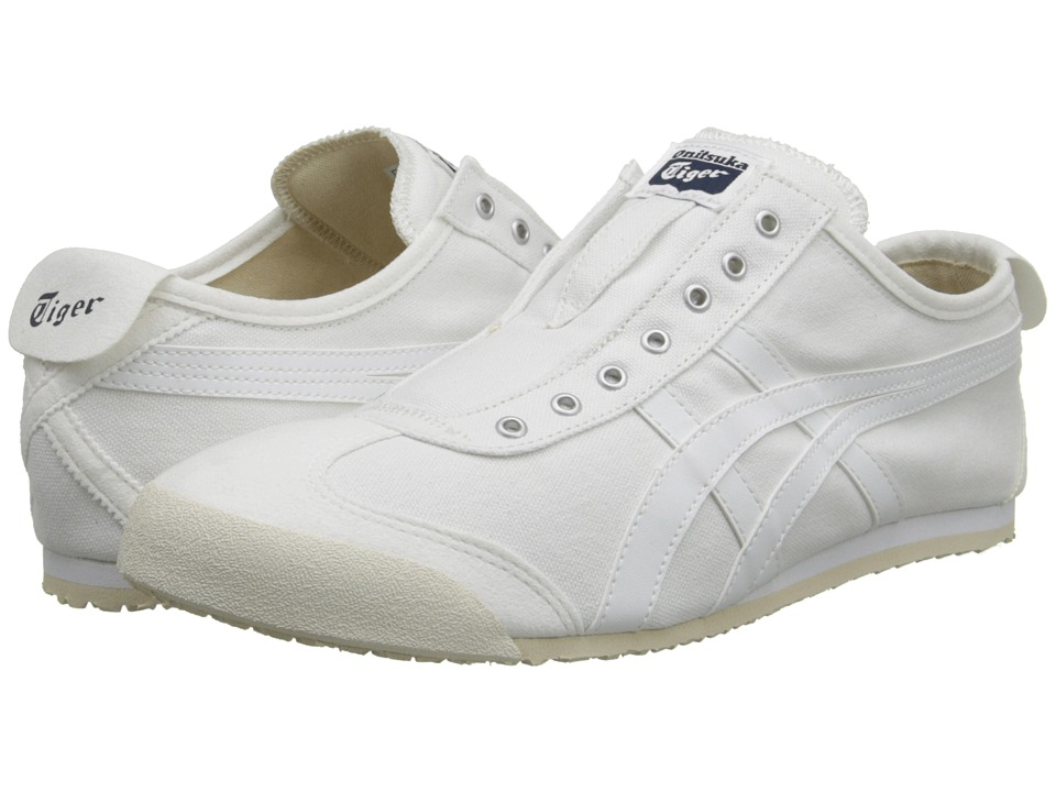 Onitsuka Tiger by Asics Mexico 66(r) Slip-On (White/White) Shoes