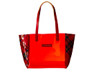 Dooney & Bourke Market Highland Holiday Plastic Windsor Shopper
