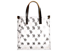 Dooney & Bourke Market Highland Holiday Clear Plastic Lunch Bag