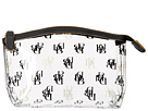 Dooney & Bourke Market Highland Holiday Clear Plastic Small Cosmetic Case