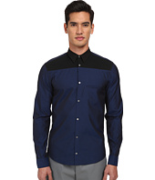 CoSTUME NATIONAL - Bicolor Button Up Shirt