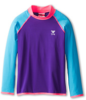 TYR - Solid Rashguard (Little Kids/Big Kids)