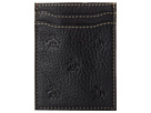 Original Penguin Repeat Deboss Pocket Wallet (Black)