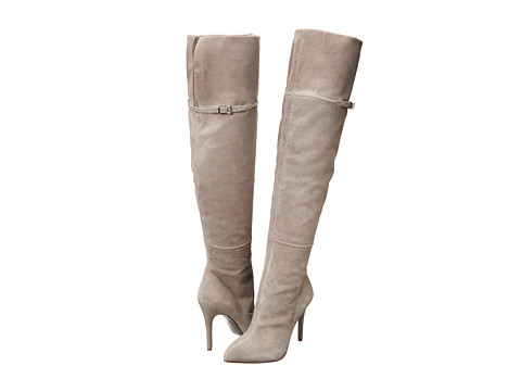 Shop Chinese Laundry online and buy Chinese Laundry Kristin Cavallari Cassie Grey Footwear - Zappos.com is proud to offer the Chinese Laundry - Kristin Cavallari - Cassie (Grey) - Footwear: You're sure to turn heads in these stunning tall boots. ; Suede upper. ; Strap and buckle detail. ; Elastic gore for enhanced fit. ; Textile lining. ; Man-made sole. ; Imported. Measurements: ; Heel Height: 4 in ; Weight: 15 oz ; Shaft: 22 in ; Product measurements were taken using size 6.5, width M. Please note that measurements may vary by size.