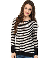 NIC+ZOE - Petite Enchanting Stripes Top Tissue Tee