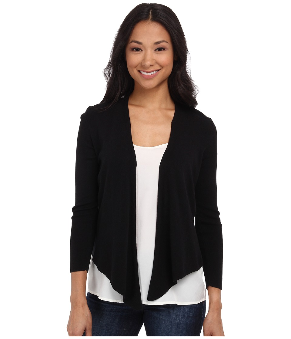 NIC+ZOE - Petite 4-Way Cardy (Black Onyx 1) Women