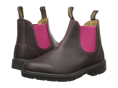 Blundstone Kids 1410 (Toddler/Little Kid/Big Kid) - Brown/Pink