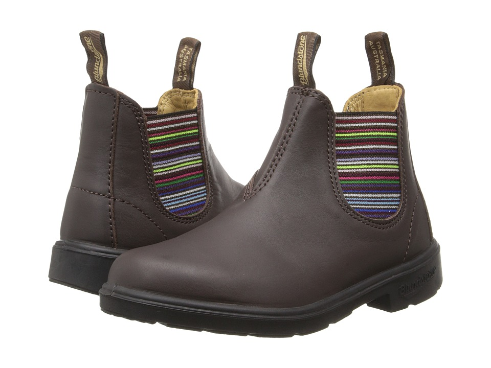 Blundstone Kids 1413 (Toddler/Little Kid/Big Kid) (Brown/Multi) Girls Shoes