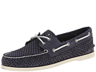 Sperry Top-Sider A/O 2-Eye Laser Perf (Navy)