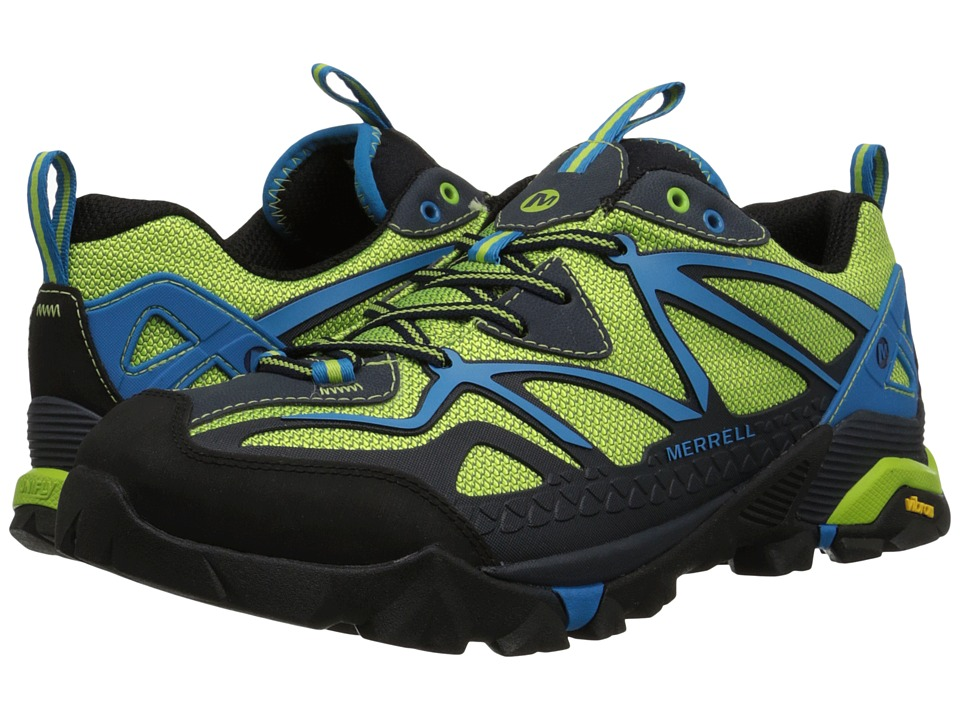 Merrell - Capra Sport (Black/Lime Green) Men