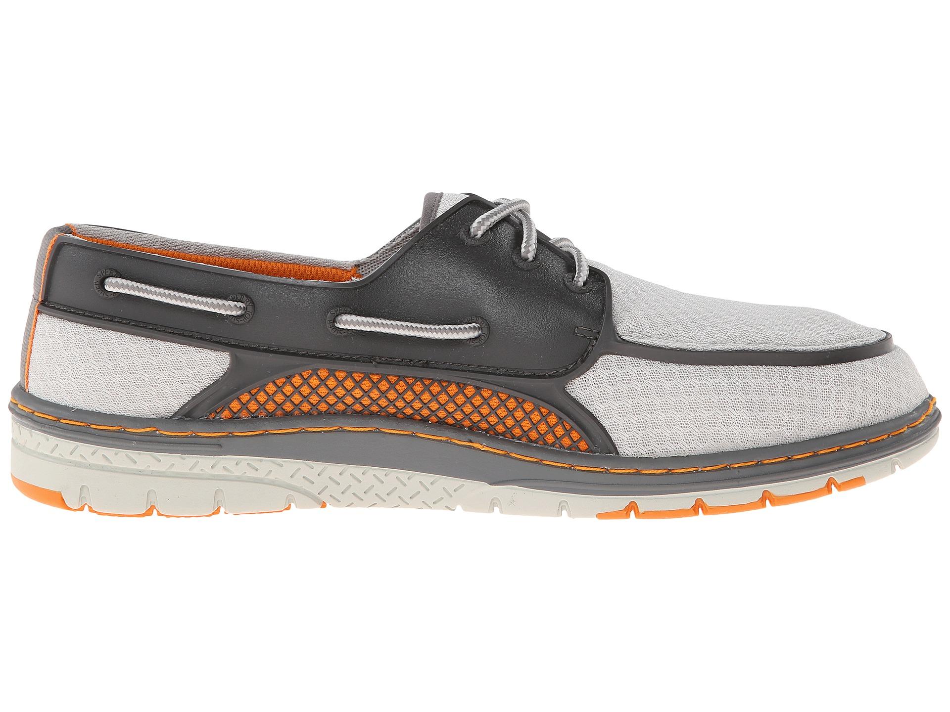Men S Billfish Ultralite  Eye Boat Shoes Grey