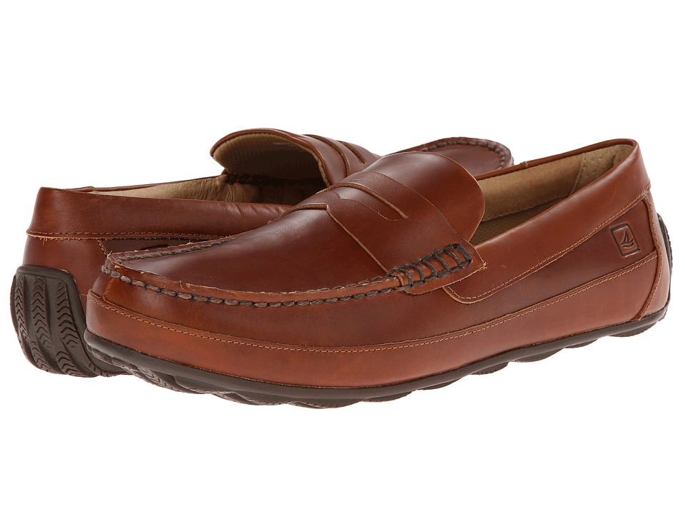 Sperry Top-Sider Hampden Penny (Tan) Men's Slip on  Shoes