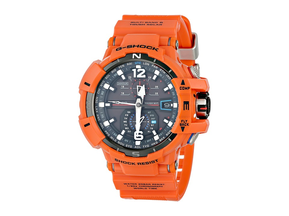 Casio Atomic Solar GWA1100 (Orange) Watches