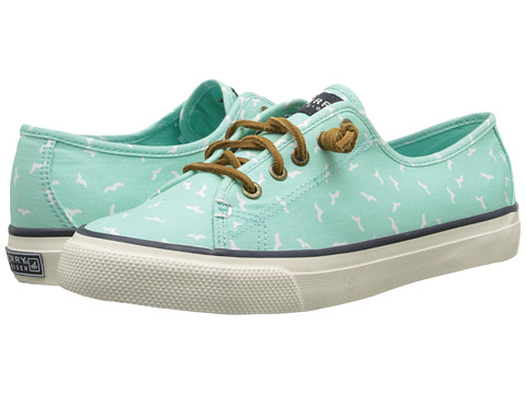 Sperry Top-Sider - Seacoast Prints (Mint (Gulls)) Women's Lace up casual Shoes
