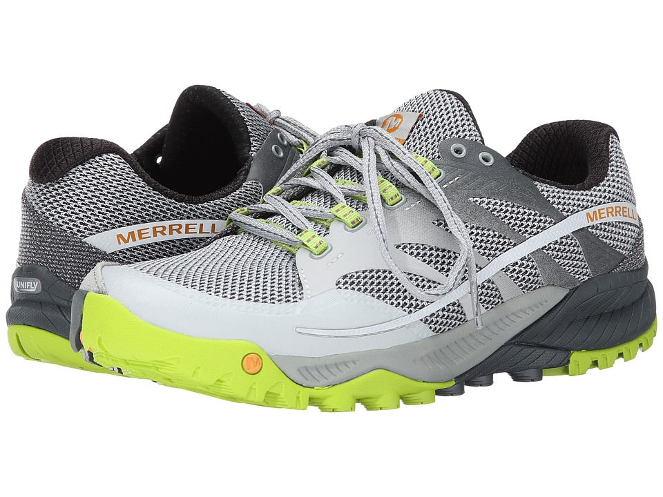 Merrell - All Out Charge (Grey/Lime Green) Men