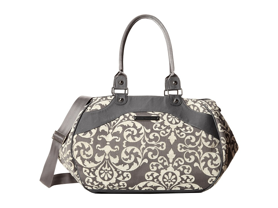 petunia pickle bottom Chenille Wistful Weekender Earl Grey Weekender/Overnight Luggage