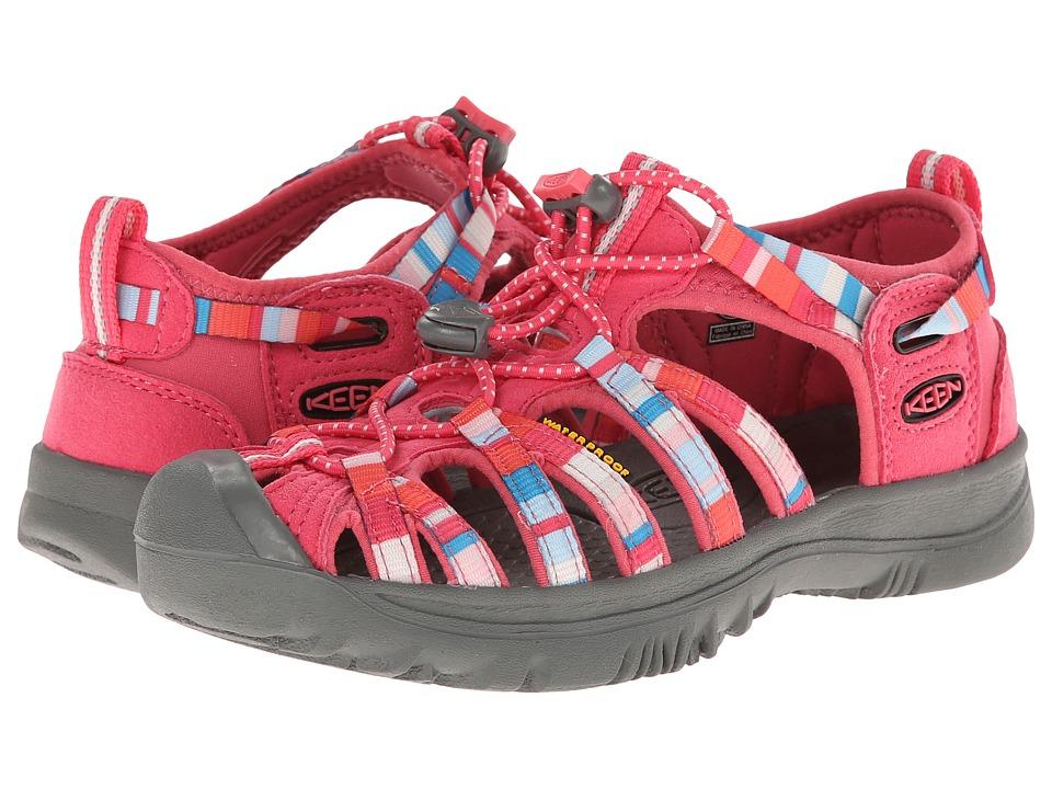 Keen Kids Whisper (Little Kid/Big Kid) (Raya Honeysuckle) Girls Shoes