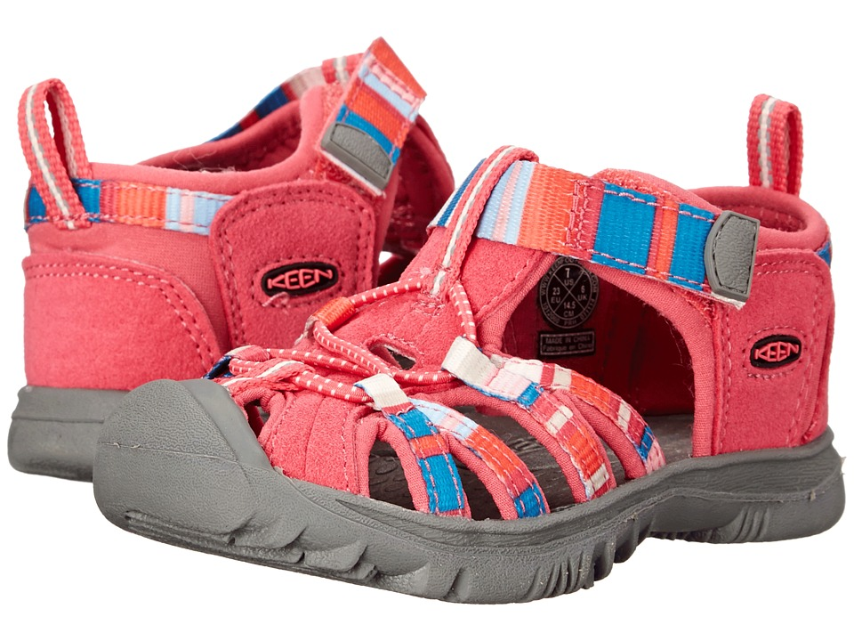 Keen Kids Whisper (Toddler) (Raya Honeysuckle) Girls Shoes
