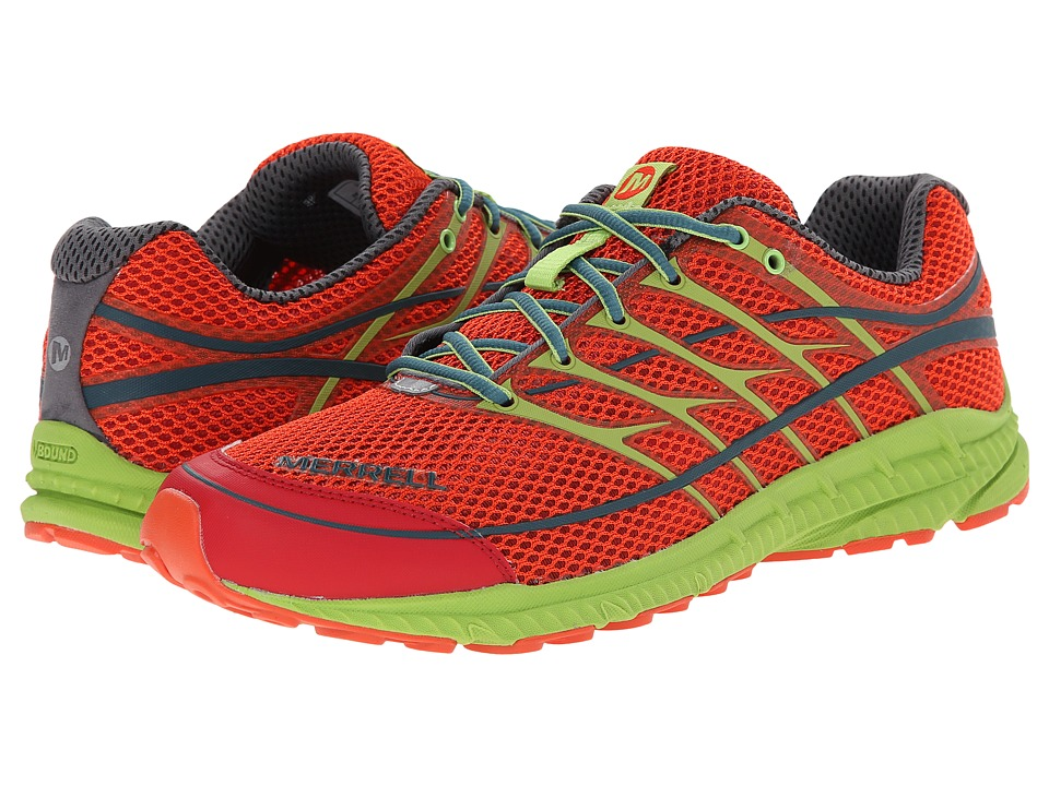 Merrell - Mix Master Move 2 (Haute Red/Lime Green) Men