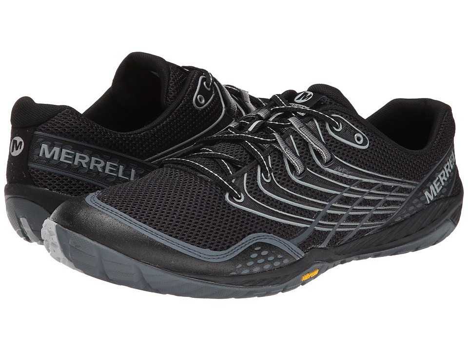Merrell - Trail Glove 3 (Black/Light Grey) Men