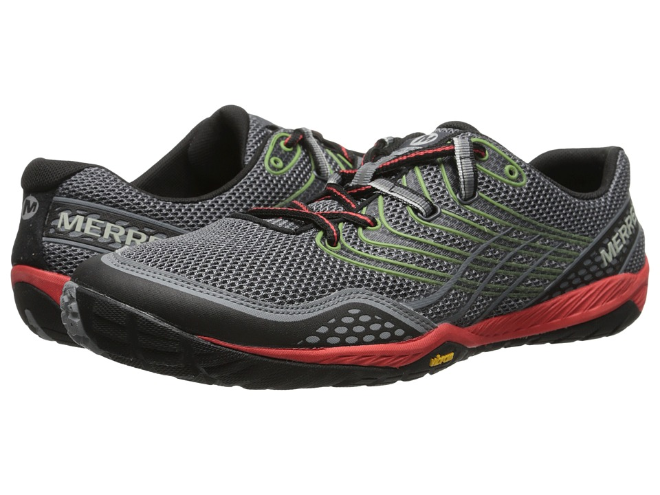 Merrell - Trail Glove 3 (Grey/Red) Mens Shoes
