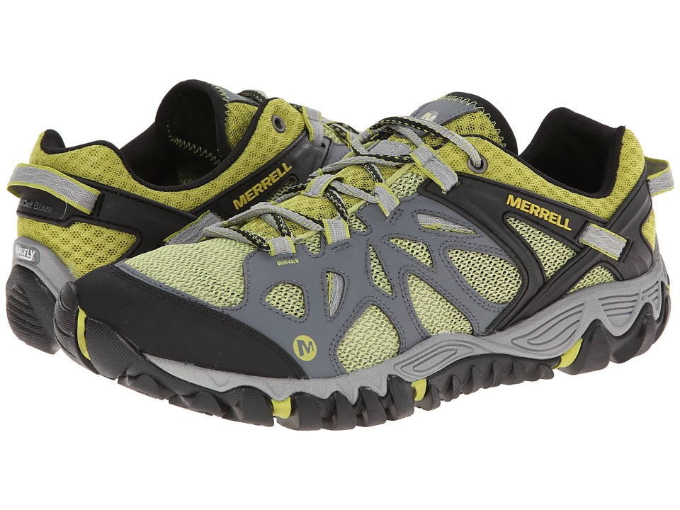Merrell All Out Blaze Aero Sport (Castle Rock/Green Oasis) Men