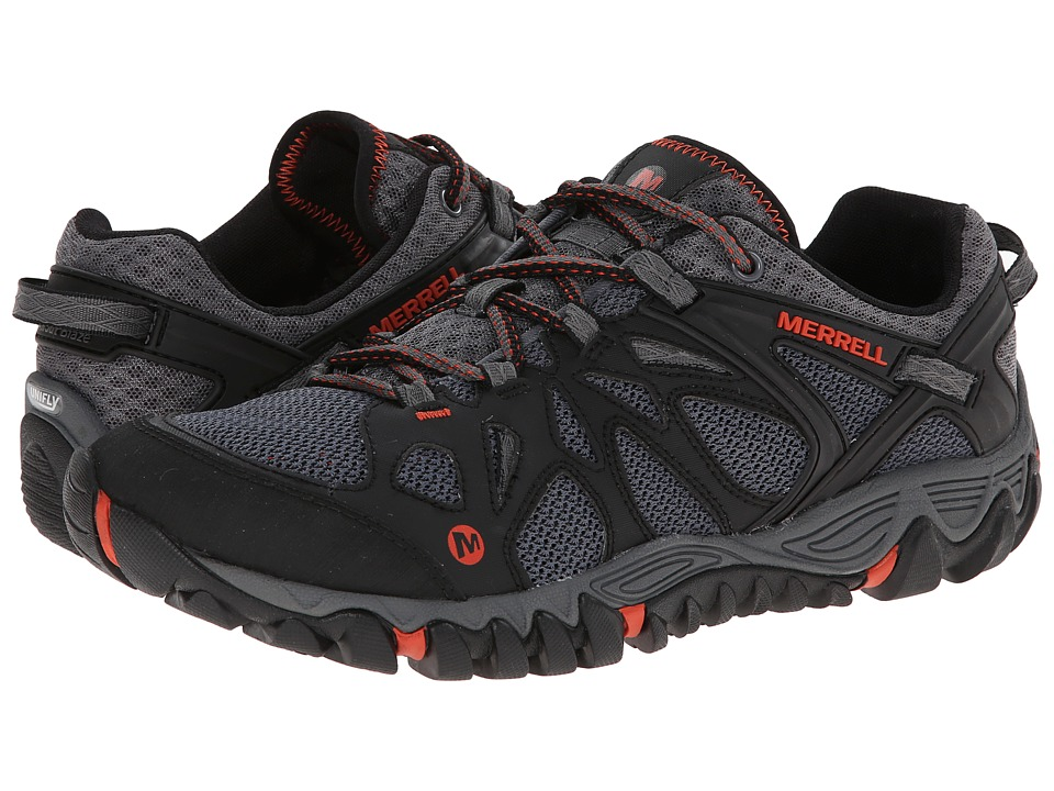 Image of Merrell All Out Blaze Aero Sport (Black/Red) Men's Shoes