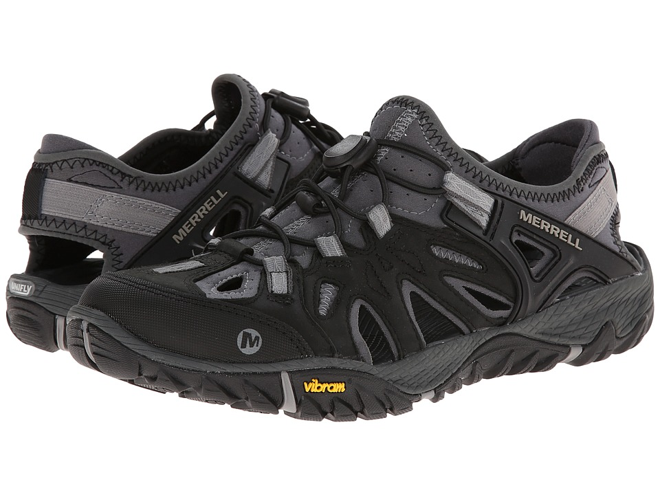 Merrell All Out Blaze Sieve (Black/Wild Dove) Men's Shoes