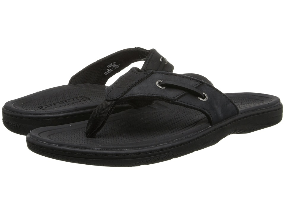 Sperry Top-Sider - Baitfish Thong (Black) Men
