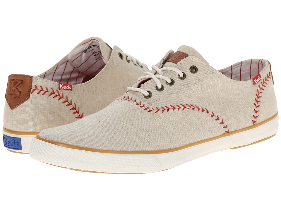 Keds - Champion Vintage Baseball Linen (Natural) Men