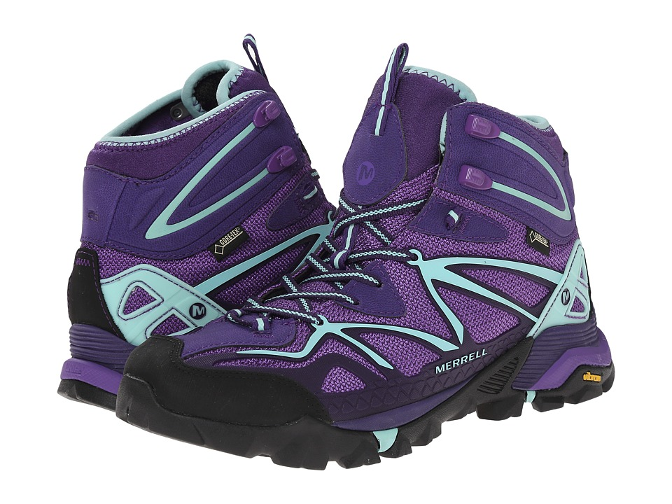 Merrell - Capra Mid Sport GORE-TEX (Royal Lilac/Adventurine) Women