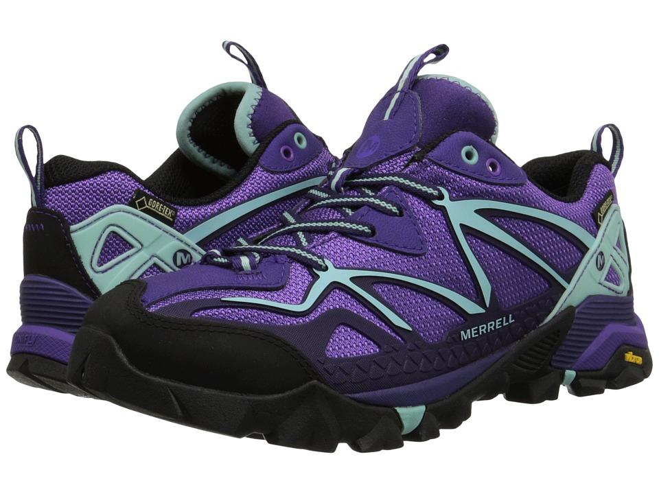 Merrell Capra Sport GORE TEX Royal Lilac/Adventurine Womens Shoes