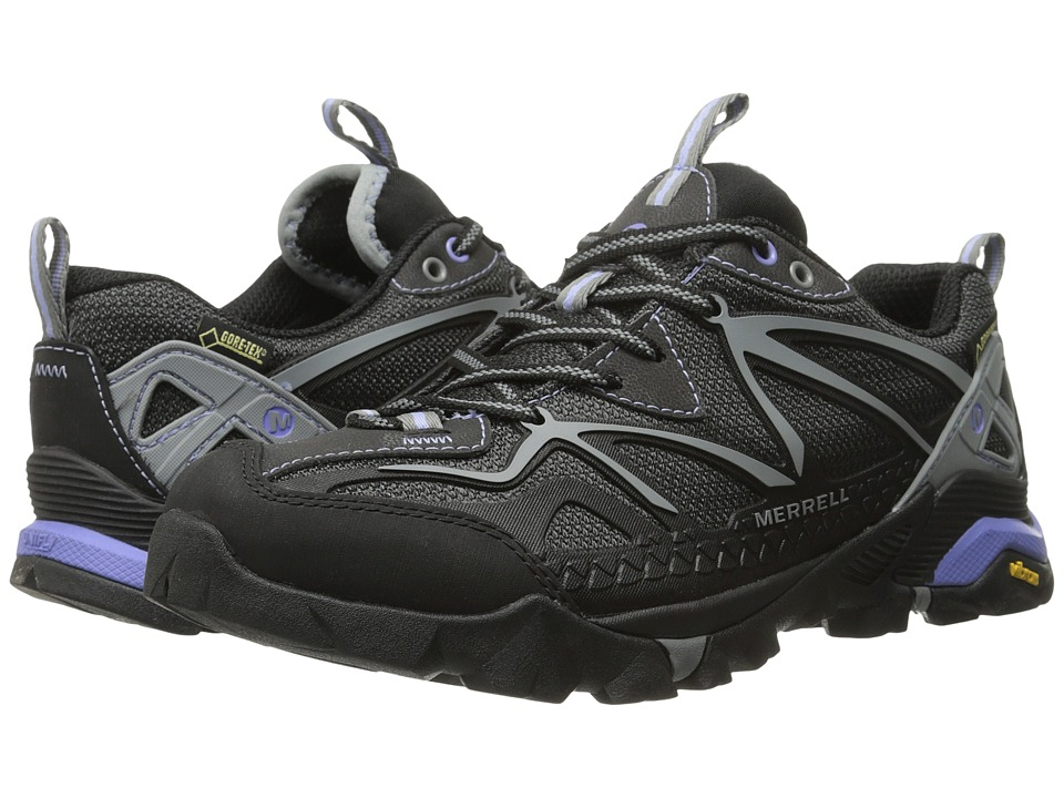 Merrell - Capra Sport GORE-TEX (Black/Grey) Women
