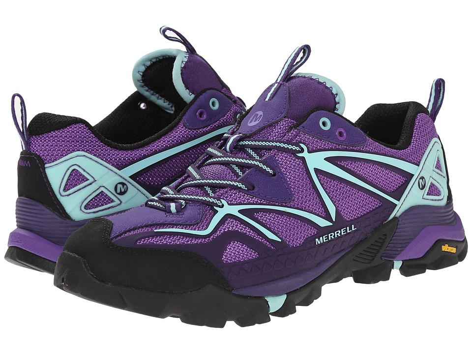 Merrell Capra Sport Royal Lilac/Adventurine Womens Shoes