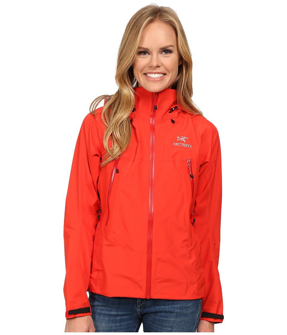 Arcteryx Beta LT Hybrid Jacket Firefly Womens Coat