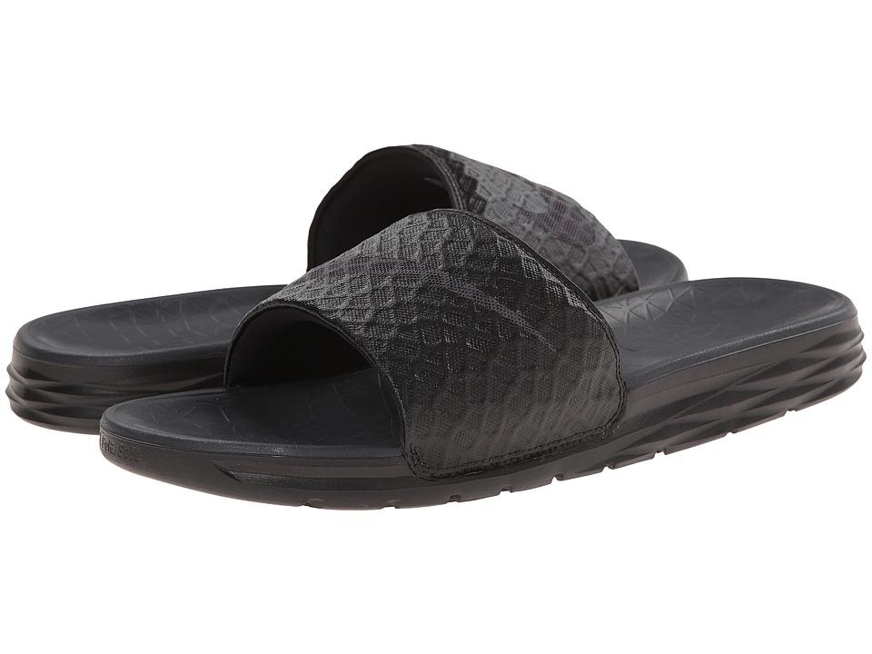 Nike Benassi Solarsoft Slide 2 (Black/Anthracite) Men's S...