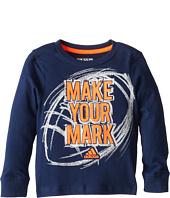 adidas Kids - Make Your Mark L/S Tee (Toddler/Little Kids)