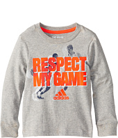 adidas Kids - Go To Respect L/S Tee (Toddler/Little Kids)