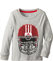 adidas Kids - Go To Football L/S Tee (Toddler/Little Kids)