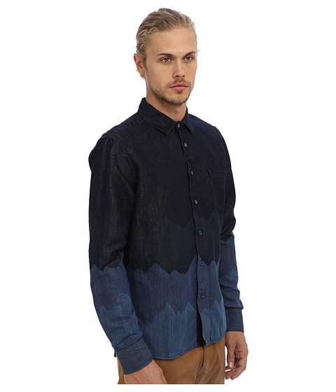 Levi 39 s made crafted classic shirt in denim mountains for Levis made and crafted shirt