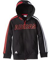 adidas Kids - Fast Fleece Jacket (Toddler/Little Kids)