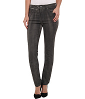 Miraclebody Jeans - Rikki Lacquered Five-Pocket Skinny Jean in Smoke