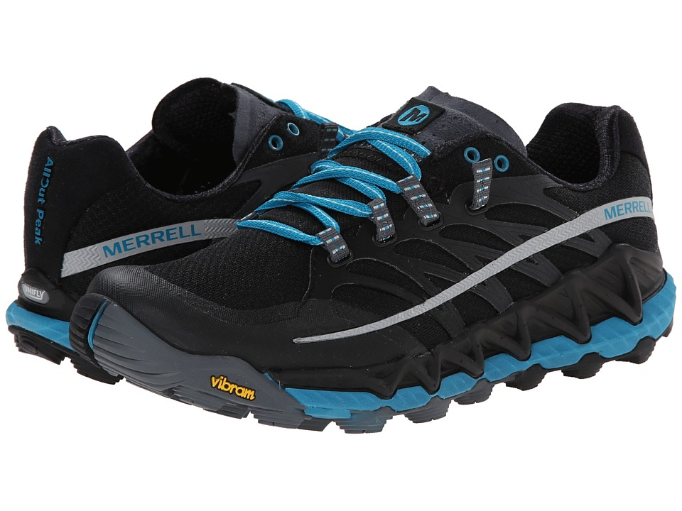 Merrell - All Out Peak (Black/Algiers Blue) Women