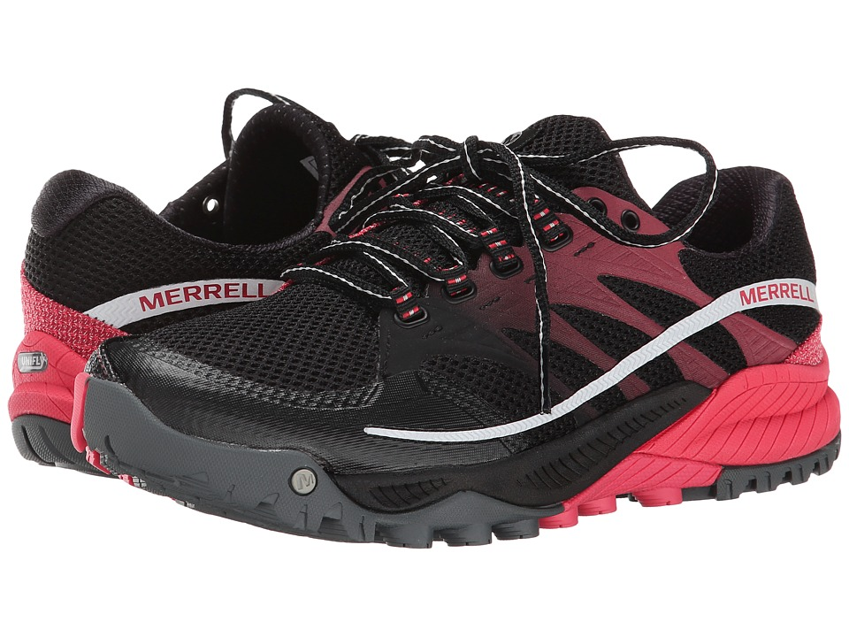 Merrell - All Out Charge (Black/Geranium) Women
