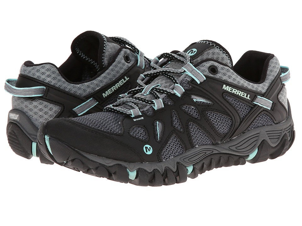Merrell All Out Blaze Aero Sport (Black/Adventurine) Women's Shoes
