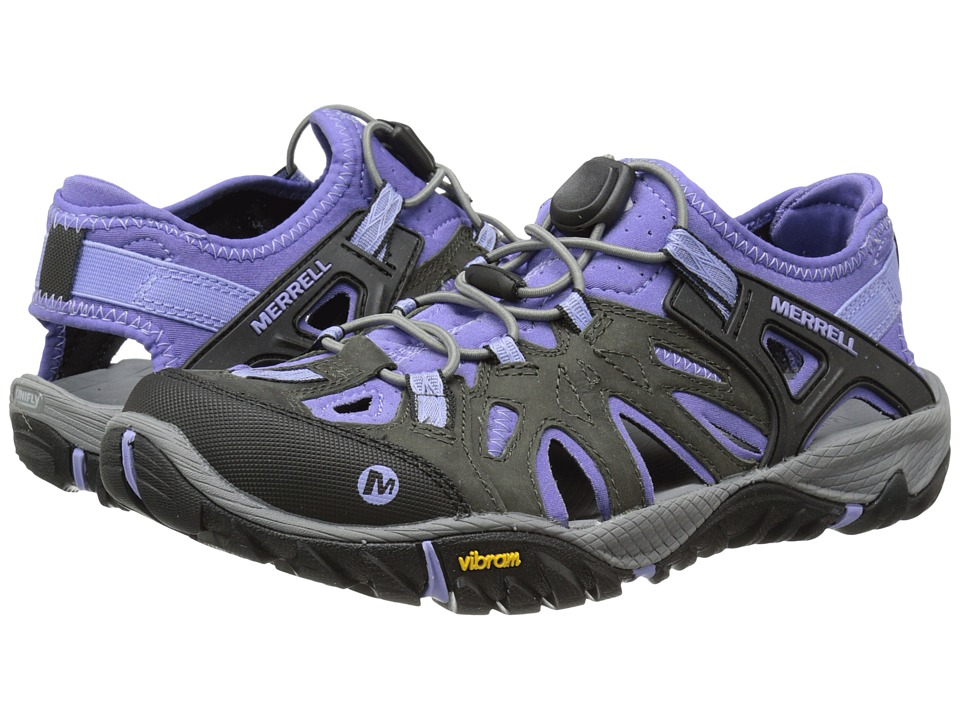 Merrell All Out Blaze Sieve Castle Rock Womens Shoes